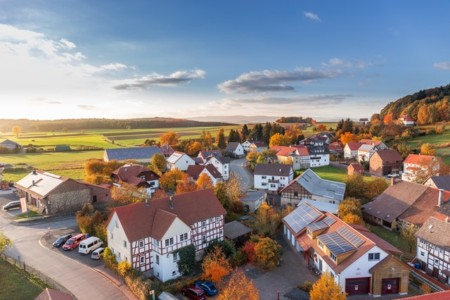 aerial-view-architecture-autumn-cars